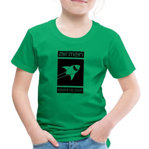 airman_logo_grossflaechig - Kinder Premium T-Shirt