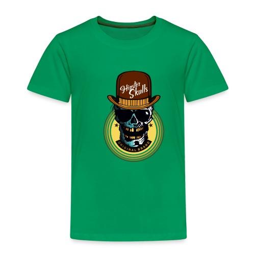 tete de mort hipster skull crane lunette de soleil - T-shirt Premium Enfant