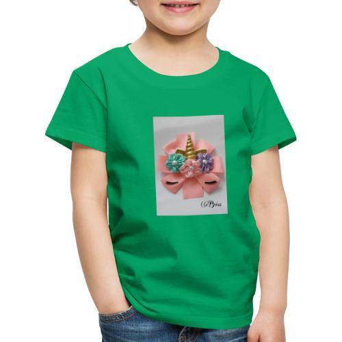 Moño de unicornio - Camiseta premium niño