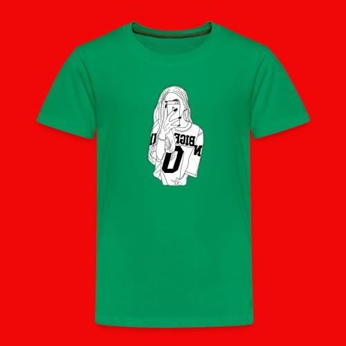 Hiphop Girlie - Kinder Premium T-Shirt