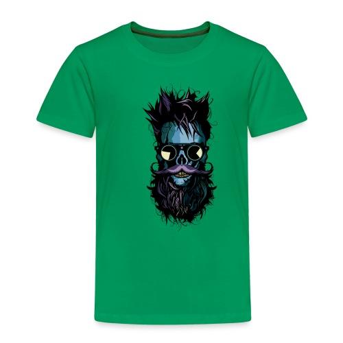 tete de mort lunette hipster crane skull soleil ba - T-shirt Premium Enfant