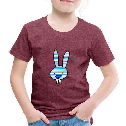 konijn cartoon - Kinderen Premium T-shirt
