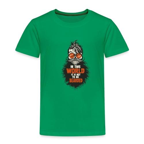 tete de mort citation hipster skull crane humour w - T-shirt Premium Enfant