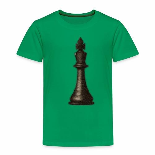 King / Queen chess logo premium wear - Kinder Premium T-Shirt