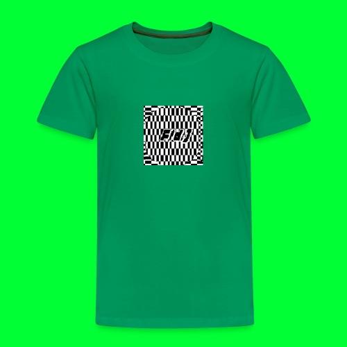 Fld.) »lux def« ; (Lux Def, Lux-Def (…)) ‒ glitch - Kinder Premium T-Shirt