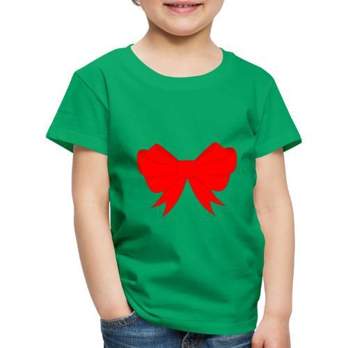 Schleife, Weihnachts Geschenk, Marry Christmas - Kinder Premium T-Shirt