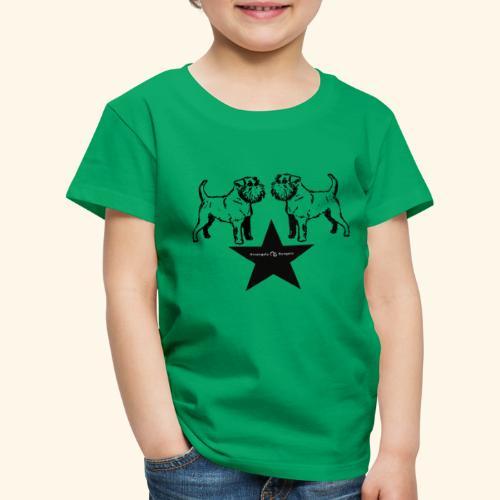 Brussels Griffon Logo - T-shirt Premium Enfant