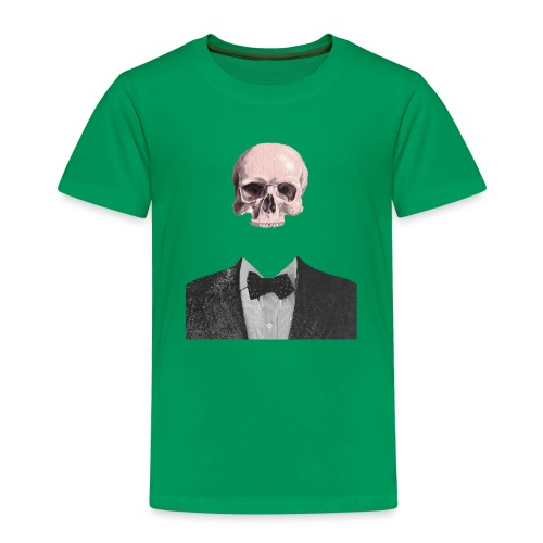 Elegant Skull - Maglietta Premium per bambini