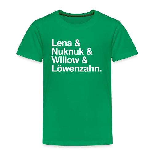 Lena Eichhorn - Namen 1 - Kinder Premium T-Shirt