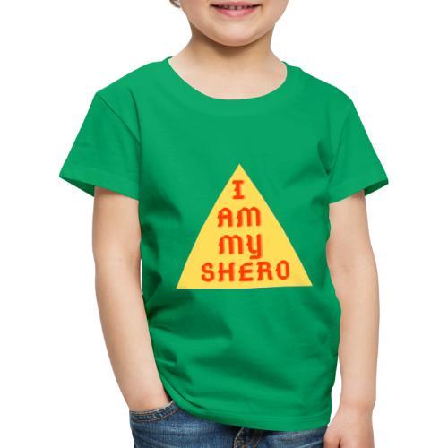 Le triangle I am my shero - T-shirt Premium Enfant
