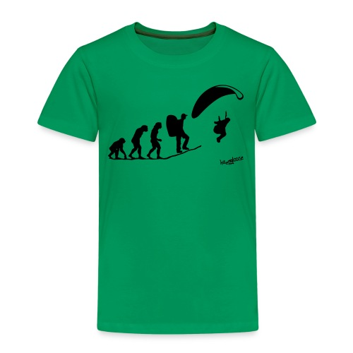 Evolution (2) - Kinder Premium T-Shirt
