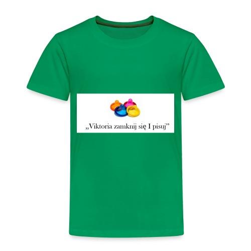 Viktoria zamknij sie i pisuj LIMITED EDITION!!! - Kids' Premium T-Shirt