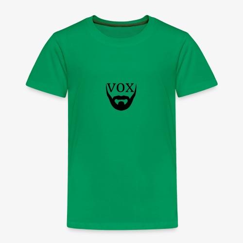 Logo Vox Nero - Maglietta Premium per bambini