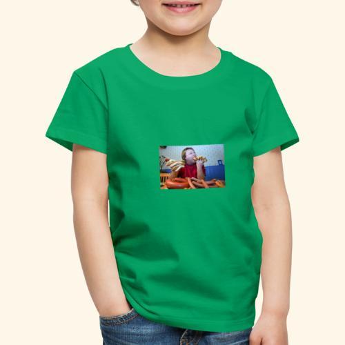 Gunnar äter korv - Premium-T-shirt barn
