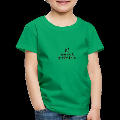 modelo1 - Camiseta premium niño