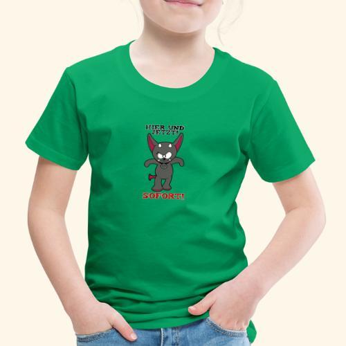 Zwergschlammelfen - Hier und Jetzt, Sofort! - Kinder Premium T-Shirt