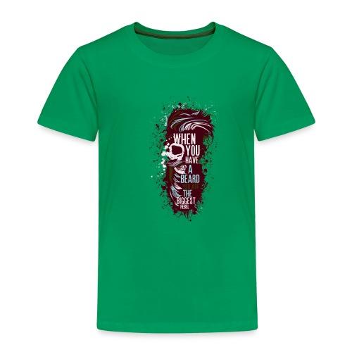 tete de mort crane hipster skull citation humour b - T-shirt Premium Enfant