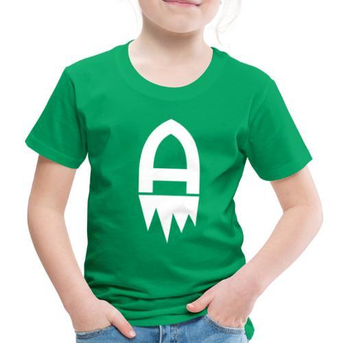 Adelite - Weisses Logo - Kinder Premium T-Shirt