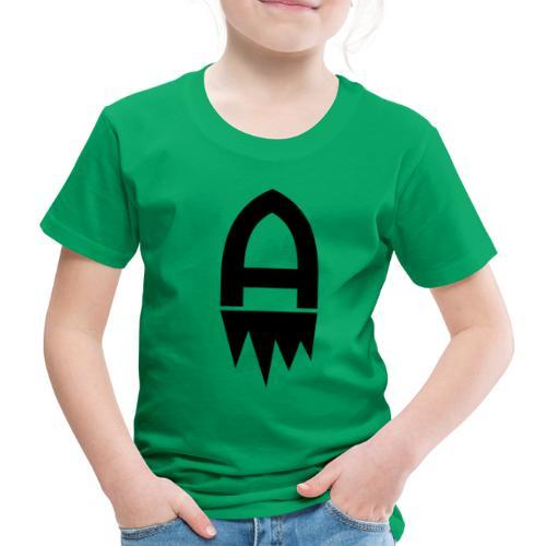 Adenite - Schwarzes Logo - Kinder Premium T-Shirt