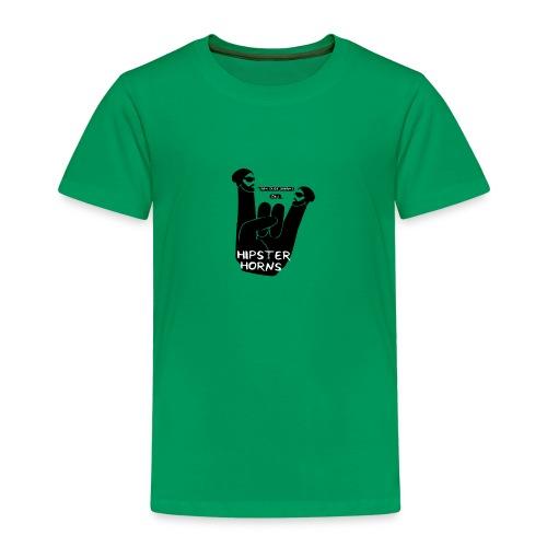 8 Hipster Horns - Kinder Premium T-Shirt
