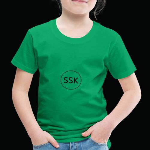 Salangen Skolekantine logo - Premium T-skjorte for barn