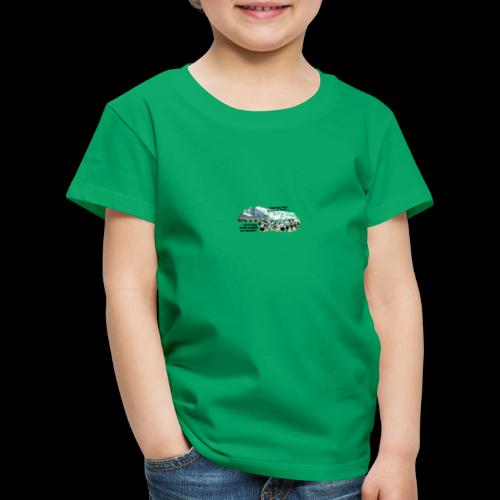 tux demo - Kinder Premium T-Shirt