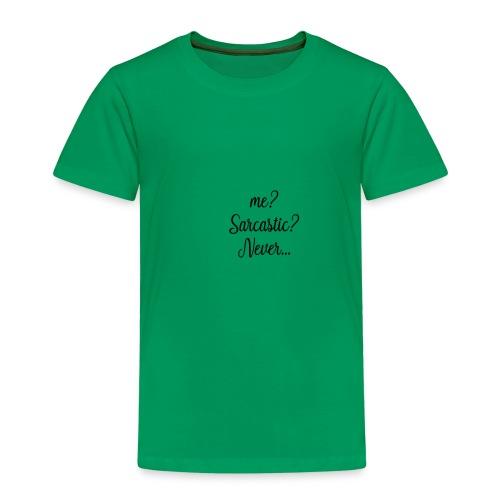 SARCASTIC - Camiseta premium niño