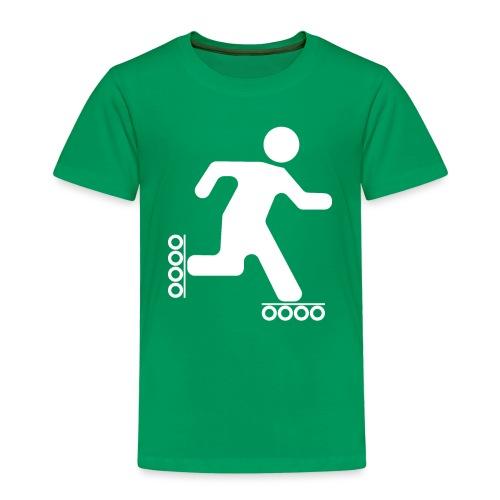 Strichmann Speedskater - Kinder Premium T-Shirt
