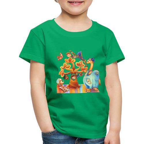 Dinosauro buono - Maglietta Premium per bambini