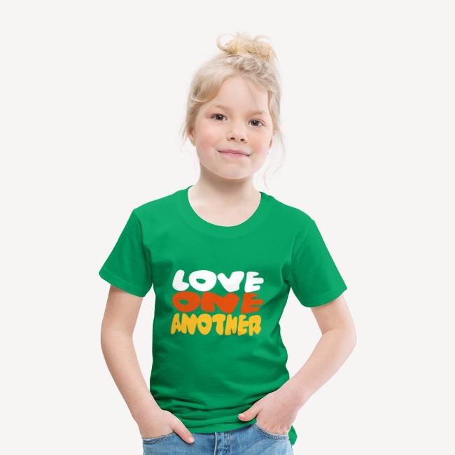 KIDS T-SHIRT - LOVE ONE ANOTHER