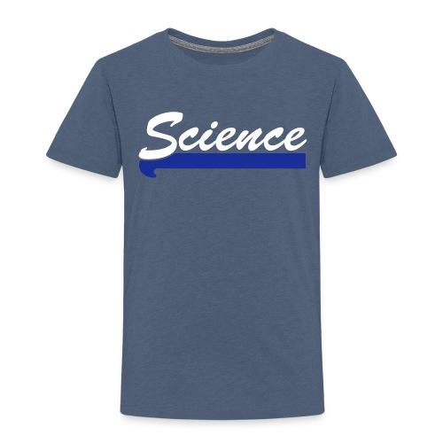 yellowibis varsity bballscience vec - Kids' Premium T-Shirt