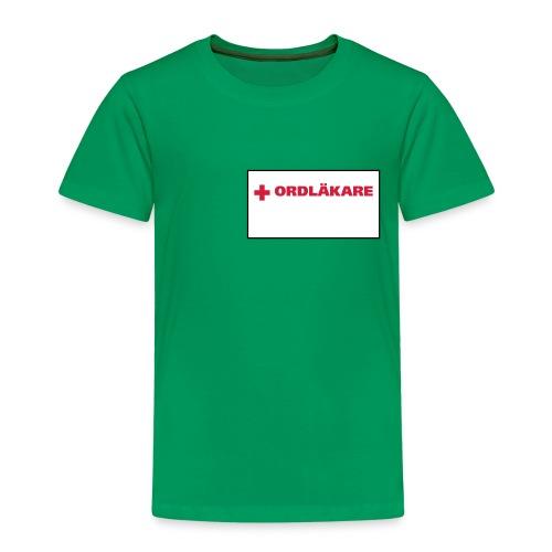 Ordläkare - Premium-T-shirt barn