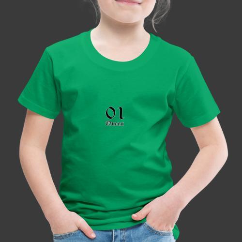 01 Queen in alter Schrift - Kinder Premium T-Shirt