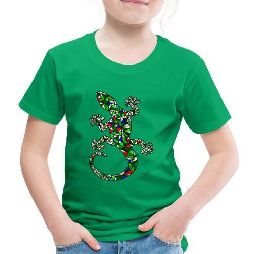 lucertola - Maglietta Premium per bambini