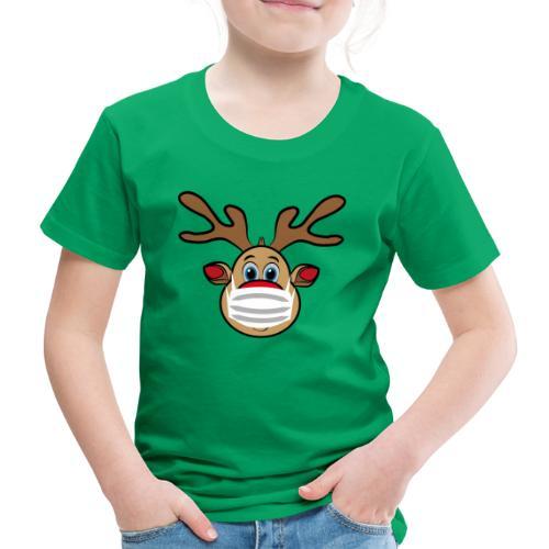 Ugly Xmas Rudi Reindeer mit Maske - Kinder Premium T-Shirt