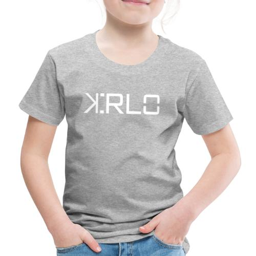 Kirlo Logo Blanco - Camiseta premium niño