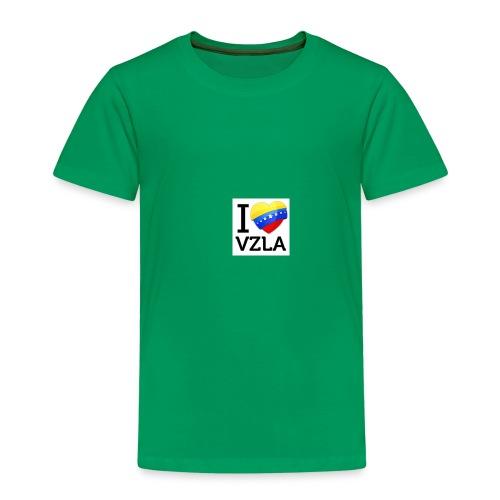 yo amo venezuel - Camiseta premium niño