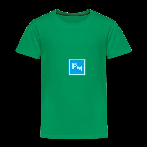 PW - Political Wear logo - Premium-T-shirt barn