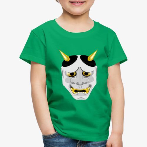 Demon Mask White - Kids' Premium T-Shirt
