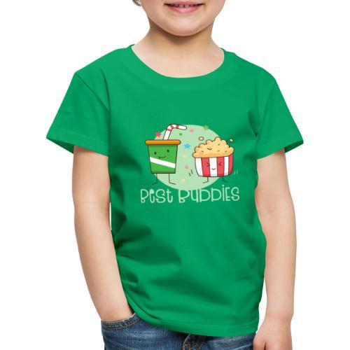 Best Buddies - Beste Freunde Kino Popcorn Limonade - Kinder Premium T-Shirt