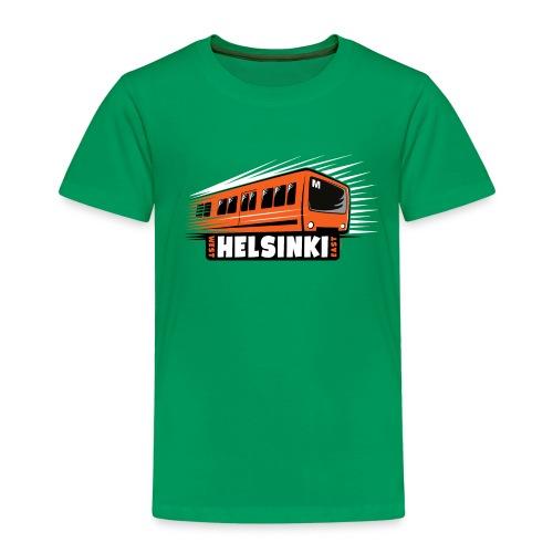 Helsinki Metro T-Shirts, Hoodies, Clothes, Gifts - Lasten premium t-paita