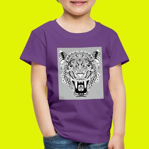 mandala tigre - Maglietta Premium per bambini