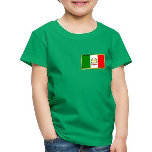 Bandiera Italiana - Maglietta Premium per bambini