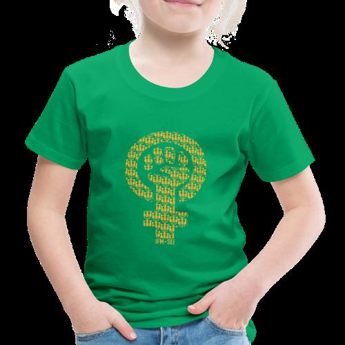 Poing IFM SEI Jaune - T-shirt Premium Enfant