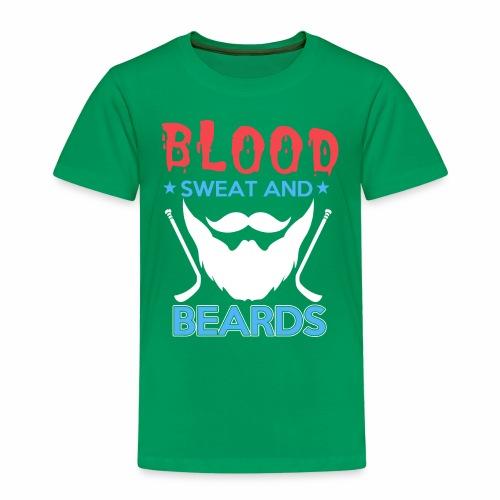 Blood Sweat And Beards - Kids' Premium T-Shirt