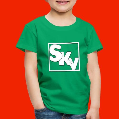SerkanKetchupVlogs Logo (SKV Logo) - Kinderen Premium T-shirt