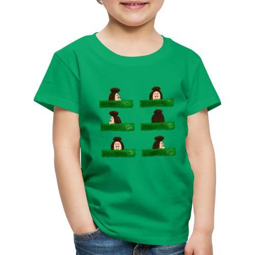Uffi im Labyrinth - Kinder Premium T-Shirt