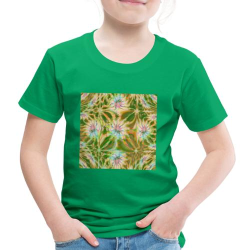 Fraktal Lea Square - Kinder Premium T-Shirt