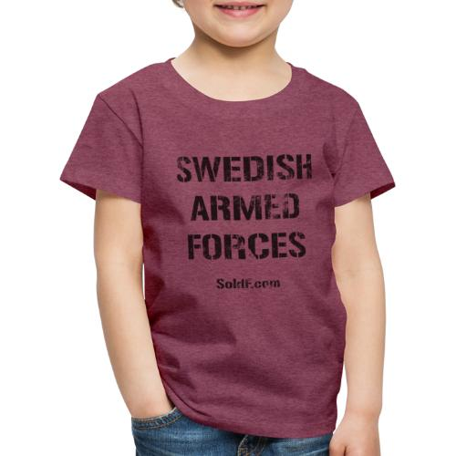 Swedish Armed Forces - Premium-T-shirt barn