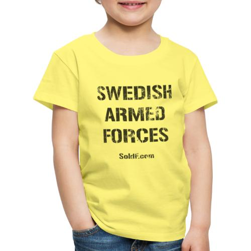 Swedish Armed Forces - Premium-T-shirt barn